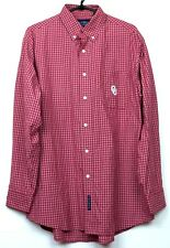 5a109bd0ba Men s Oklahoma Sooners Button Down Dress Shirt Size Large OU Embroidered