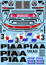 1/10 Decal Set Porsche 911 PIAA Tamiya Schumacher