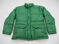 THE NORTH FACE Jacket Women's Size XXS Goose Down Full Zip Green Puffer