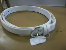 Women's All White Belt Size X-Large Brand New!