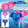 SMLXL Children Swimming Life Jacket Baby Kid Buoyancy Swimsuit Boy Girl Safety