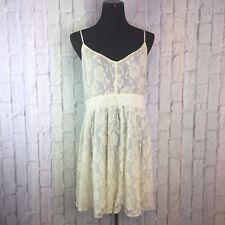 Marilyn Monroe Costume Size XL Iconic White Dress Style Lace Overlay Plus Size