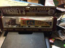 New Diecast Hershey's Heavy Hauler Tractor Trailer First Love 1992