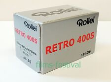 3 rolls Rollei RETRO 400S Black and White 35mm 36exp Film 135/36