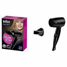 Braun Satin Hair 1 Style&Go klappbarer Reisehaartrockner Reisefön 1200 Watt