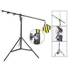 Studio Light Stand Boom Arm 5m 2in1 Heavy Duty Professional Photo Photography UK