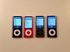 Apple iPod Nano 5th Generation (8GB) Pink / Gray / Purple - LOT OF 4