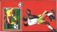 Guinea-Bissau Bloque 281 (edición completa) usado 1989 Fútbol-WM ´90, Italia