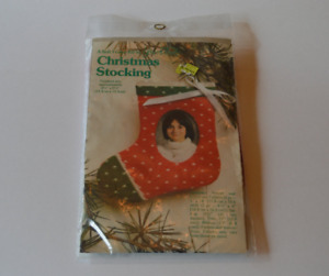 Vintage 1981 Soft Frame Kit by Yours Truly Christmas Stocking NEVER BEEN OPENED