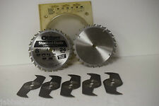 """Oldham 800-5224 Stacked Dado Blades 8"""" - 24 Tooth Carbide Tipped"""