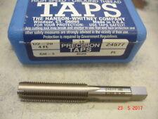 "1/2""-20 Hanson Whitney PLUG Tap High Speed Steel  USA 4 Flute $24"