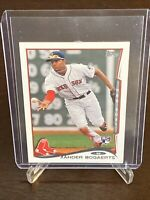 2014 Topps Xander Bogaerts Rookie Card Boston Red Sox RC Mini Parallel Mint