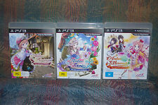 Atelier Rorona, Atelier Totori and Atelier Meruru for PS3. Excellent Quality!