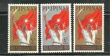 PHILIPPINES 898-900 MNH ANDRES BONIFACIO, POET NATIONAL HERO