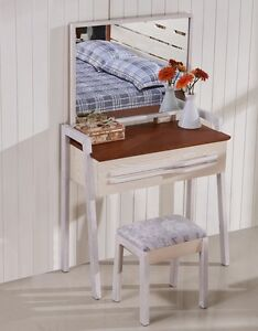 Brand New European ash wood Minimalism DRESSING TABLE with MIRROR