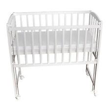 Beistellbett Babybett 90x40cm höhenverstellbar weiß Matratze Räder NEU