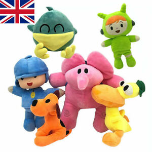 pocoyo Elly pato Loula juguetes animal de peluche figuras peluche animal muñeca