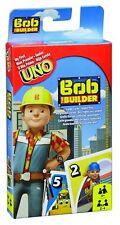ONU Junior Bob il costruttore di Mattel-Gioco di Carte-Nuovo -