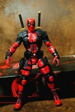 "Fire Toy 10"" Red Deadpool Figure New"