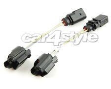 Audi A3 8P A4 B6 B7 A6 4F Q7 4L NSW Adapter Kabelbaum Stecker H7 auf H11 Sockel