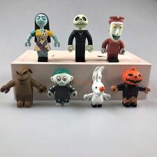 7pcs Nightmare Before Christmas Jack Skellington Action Figure Toy Kids Gift UK