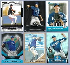 MIKE MONTGOMERY Lot of (6) Different 2008 - 2012 Cards w Rookie & Inserts