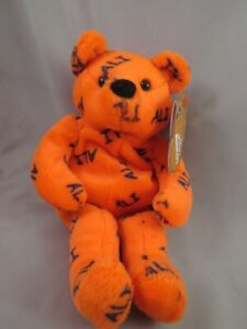 MUHAMMAD ALI BEAR SALVINO'S BAMMERS BOXING 1999 ORANGE TEDDY BOXING GLOVE TAG