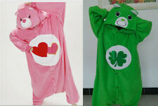 Unisex Adult Onesie Kigurumi Pajama Anime Cosplay Costume Dress Care Bear #112