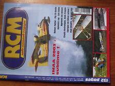 $$w Revue RCM N°269 Plan encarte Wright Baby  Flip 3D  Eolo  IMAA 2003  Twister