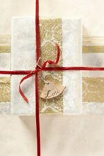 Anthropologie Handmade Special Occasion/Wedding Gift Wrap Set of 3 Sheets NIP