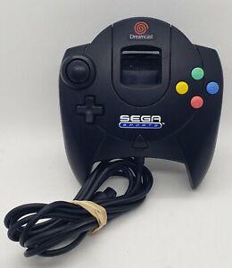 Sega Sports Dreamcast Controller Black Rare Tested Working
