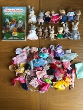 Sylvanian Families DVD + bundle Of Figures & Clothing In pre-owned Condition
