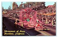 Postcard Tournament of Roses, Pasadena CA float parade B54