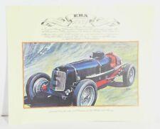 Era 1934 Classic Car Sports Car Art Print Poster Picture 41x33 CM