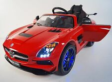 MERCEDES SLS For Kids Model SX128 (Sport) MP4 Video With Control Parents Red