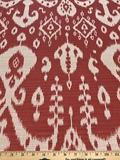 Sunbrella Sumatra Ikat Red In/Outdoor Solution Dyed Acrylic  Jacquard Fabric