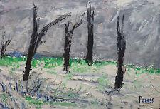 Pierre PERESS (1919-1990) HsP Paysage Années 60 / Fauvist / Fauvism / Fauviste