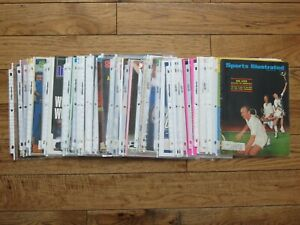 Huge lot of 50 Sports Illustrated Tennis Covers ONLY Bagged from 1968-2010