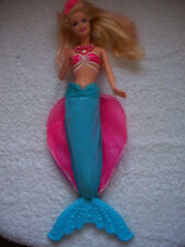 """BARBIE & THE PEARL PRINCESS LUMINA MATTEL 12""""1998.BLONDE HAIR.EXCELLENT CON.USED"""