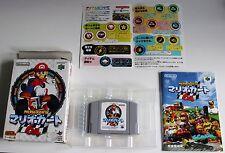 N64 - (Super) Mario Kart 64 in OVP (komplett) - japanisch