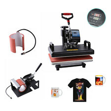 """15"""" X 12"""" Sublimation HEAT PRESS MACHINE T-SHIRT cup Digital TRANSFER 2in1 PLATE"""