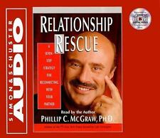 Relationship Rescue DR. PHIL Phillip McGraw CD Audiobook 2000 New FREE SHIPPING