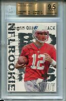 2000 Black Diamond 126 Tom Brady Rookie Card RC Graded BGS Gem Mint 9.5 w 2 10s