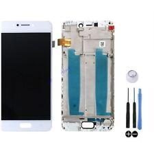 ECRAN LCD VITRE TACTILE SUR CHASSIS BLOC ASUS ZENFONE 4 MAX ZC520KL X00HD BLANC