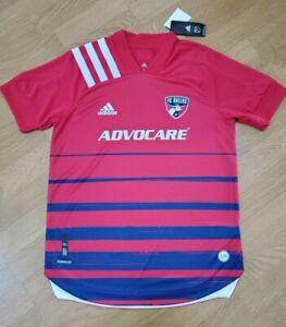 Adidas 2020/21 FC Dallas Aeroready Home Jersey Men's Size Medium EH8694 $130