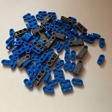 Lego 50x Genuine Technic Bright Blue 1x2 Half Beam Levers Thin 4186834 41677 NEW