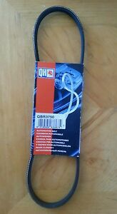 QBR3750 Auxiliary Drive Belt to fit Land Rover MG Renault Clio Rover