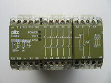 Pilz 474833 Safety Relay PNOZ3 110VAC 5S10N Very Good Condition!!! Free Shipping