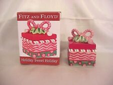 2010 Fitz & Floyd Holiday Sweet Holiday Christmas Lidded Box~Nib!