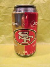 PEPSI 49ers 12 OUNCE EMPTY CAN LIMITED EDITION SAN FRANCISCO FOOTBALL LOGO RARE